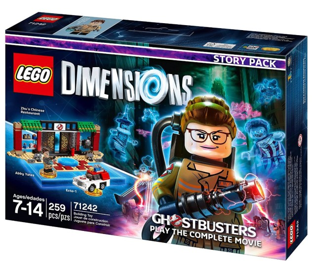 LEGO Dimensions Ghostbusters 2016 story packs