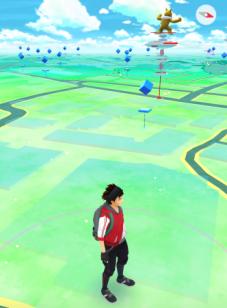 Pokemon Go screen 1