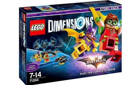 LEGO Dimensions Batman movie starter fader