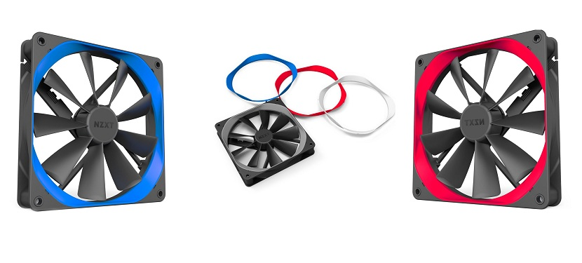 NZXT announces the  Aer F fan system