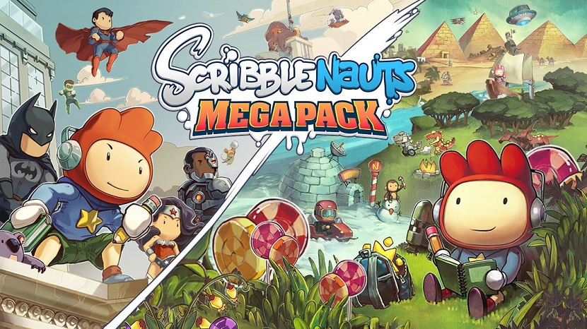 Scribblenauts Mega Pack launches for consoles