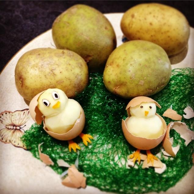 Potato Chicks
