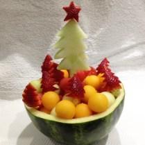 Christmas Bowl of Fruits