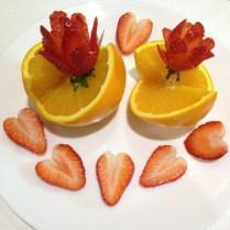 Orange & Strawberry Cuts