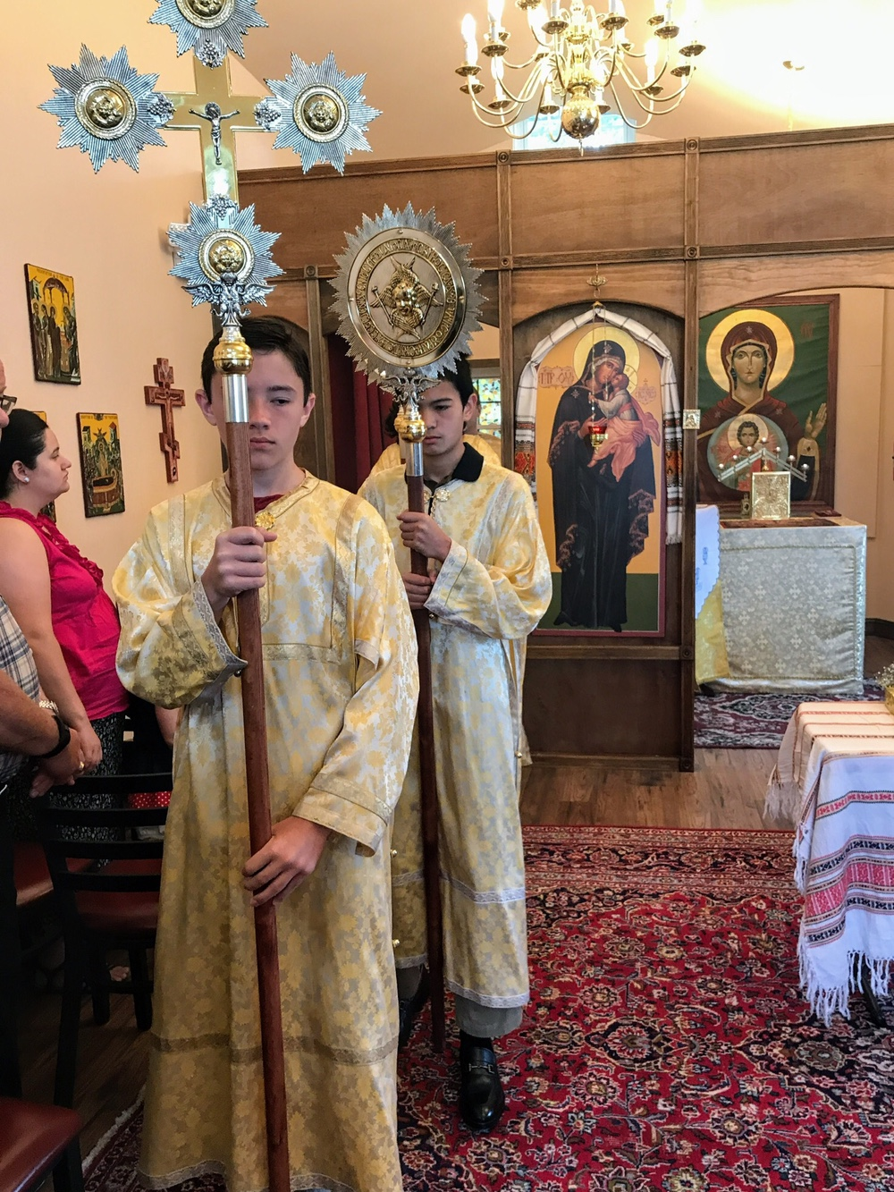 Four Evangelists Orthodox Church Divine Liturgy