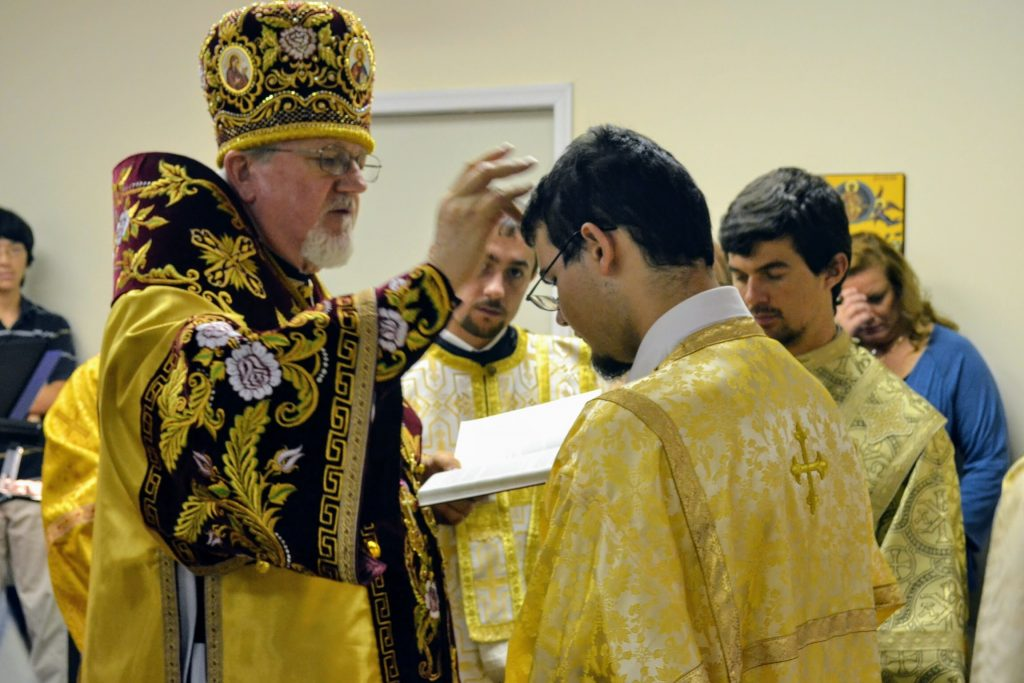 Tonsuring of Reader Nicholas Czumak, Hierarchical Divine Liturgy — 10th Anniversary
