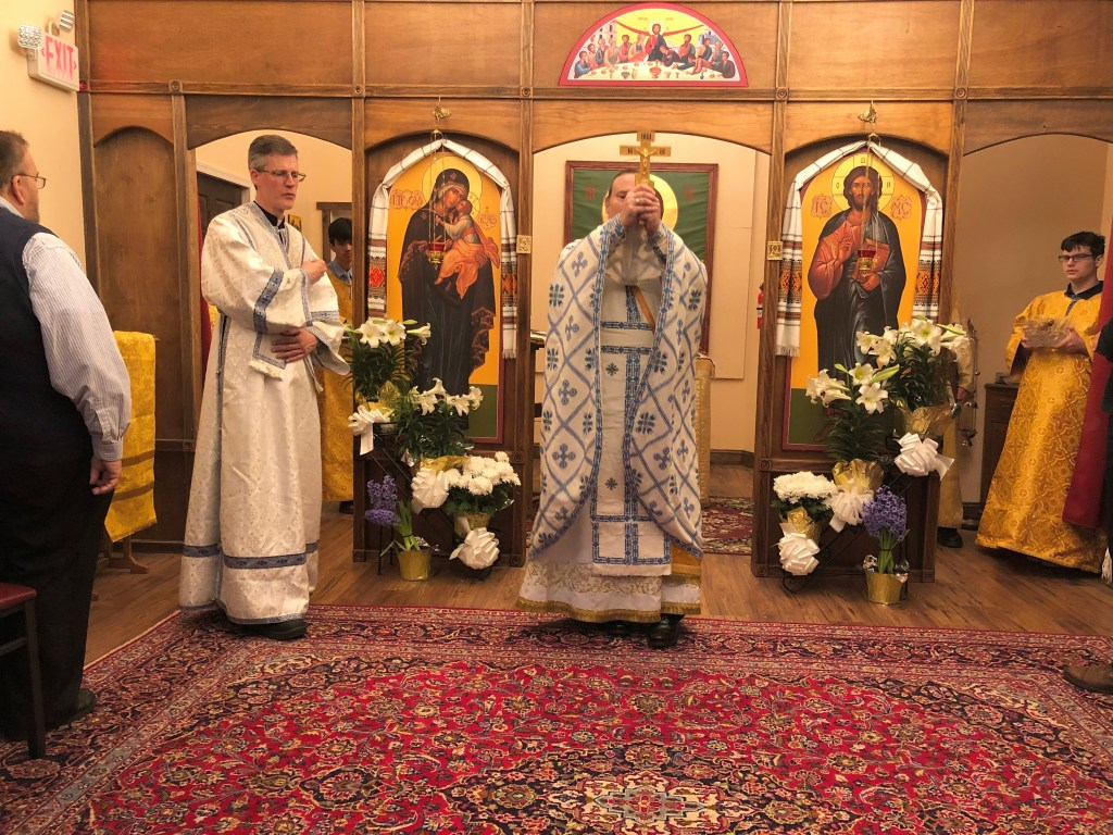 Dismissal Blessing, Festal Divine Liturgy - Great and Holy Pascha, 2019
