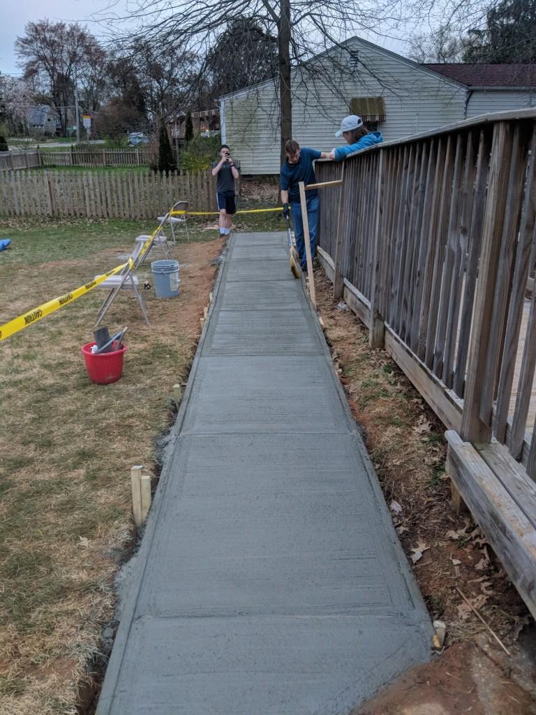 New Sidewalk Project