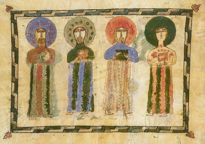 Armenian icon of the Four Holy Evangelists