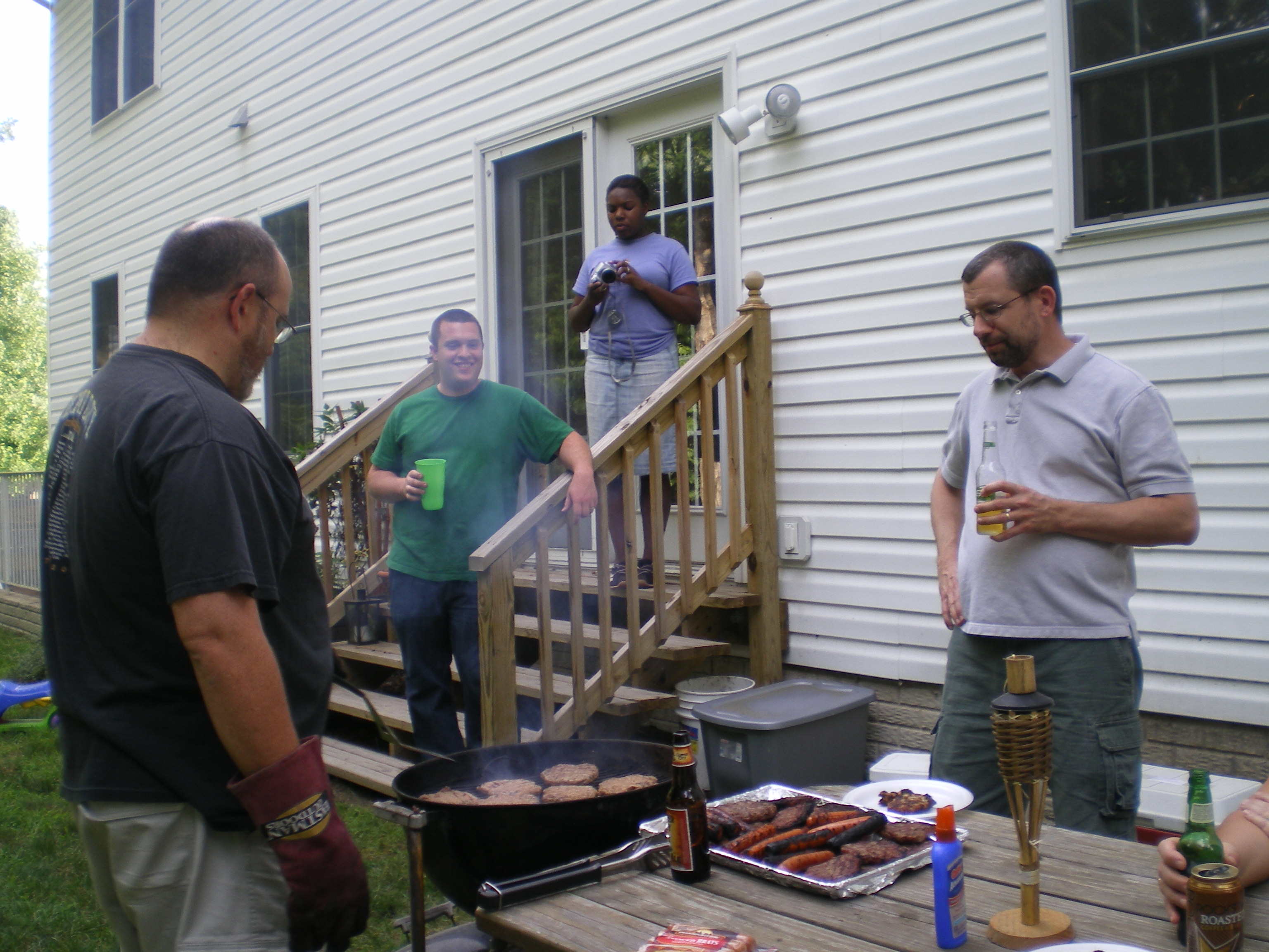 B4dguy/Ric Booth grilling...awesome!