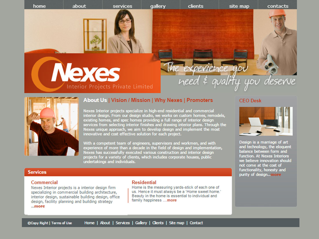 Nexes Interior projects