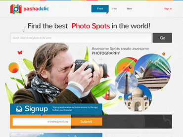 PashaDelic – Photography Website