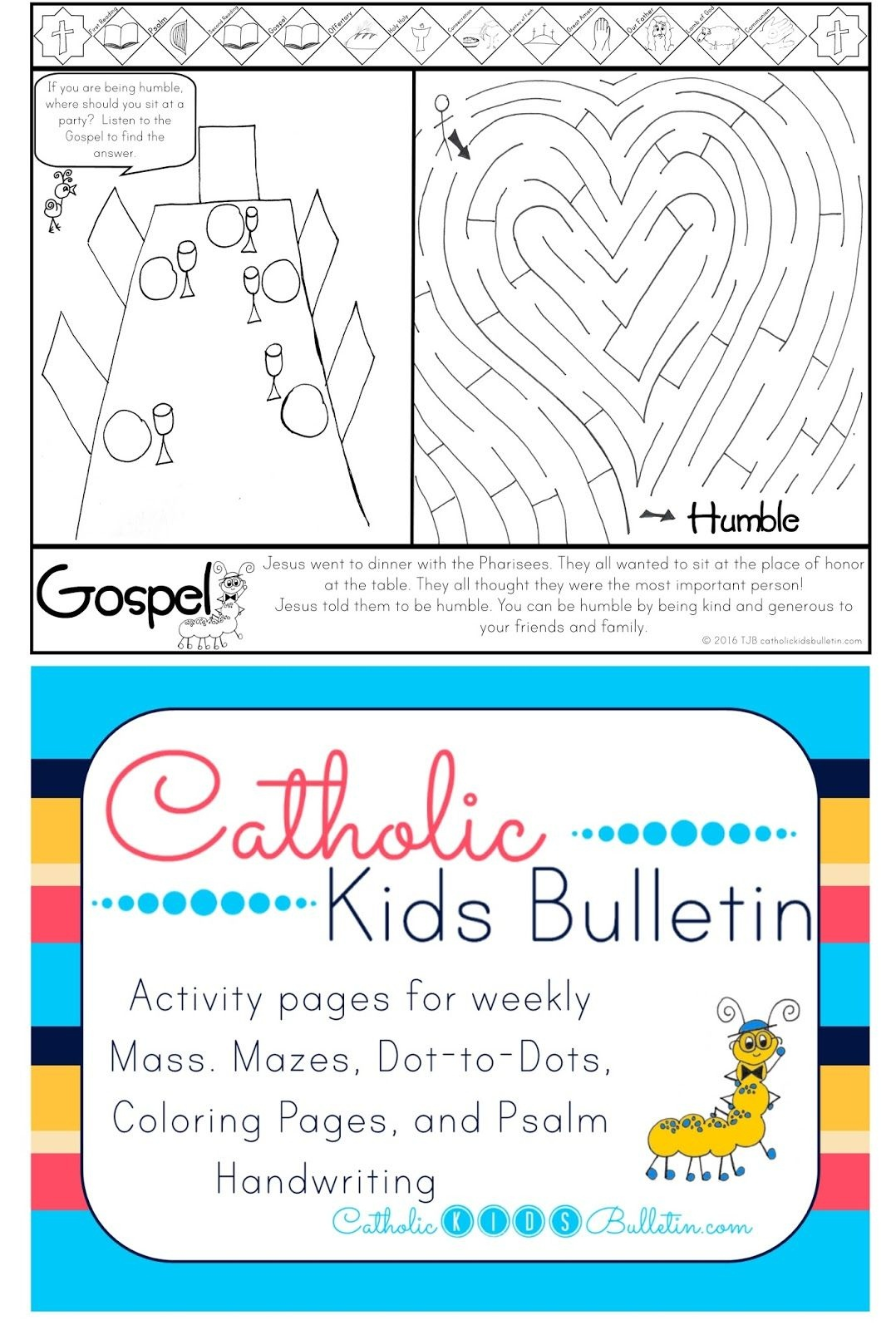 Win A Free Printable To Teach The New Mass