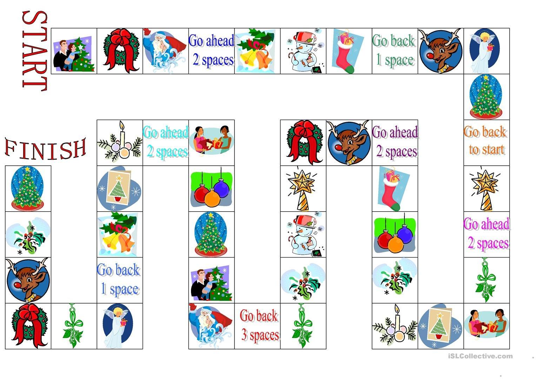 Free Printable Christmas Board Games