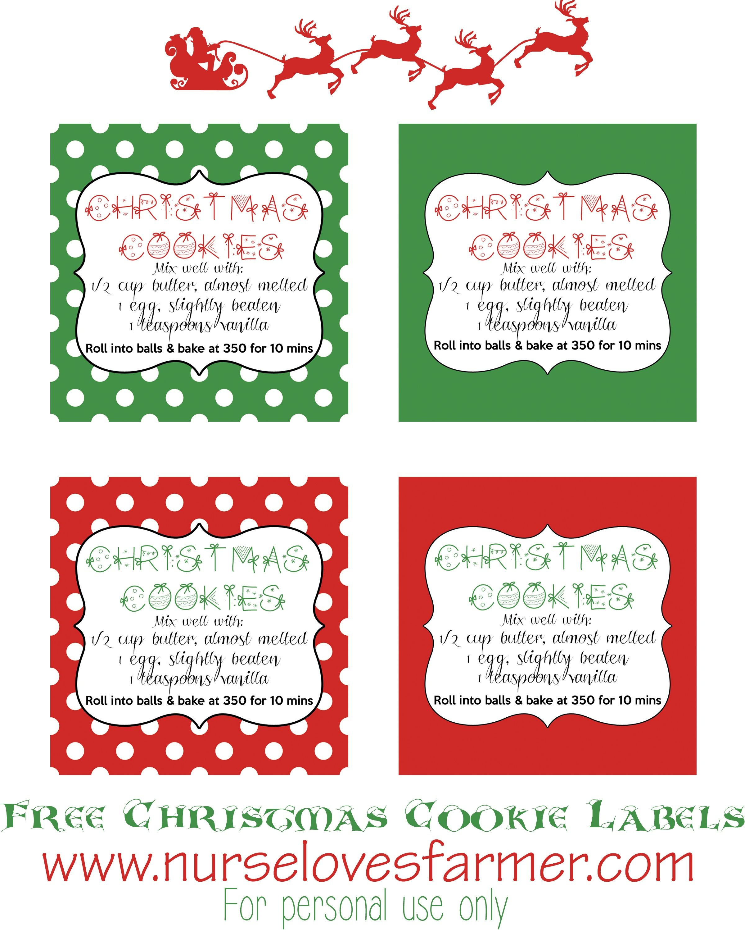 The Larson Lingo Christmas Cookies In A Jar Free