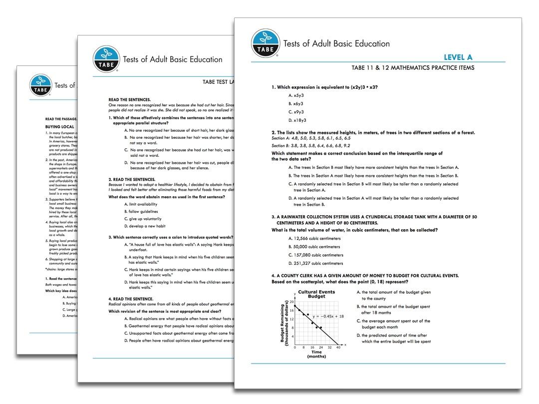 Ged Reading Practice Test Free Printable