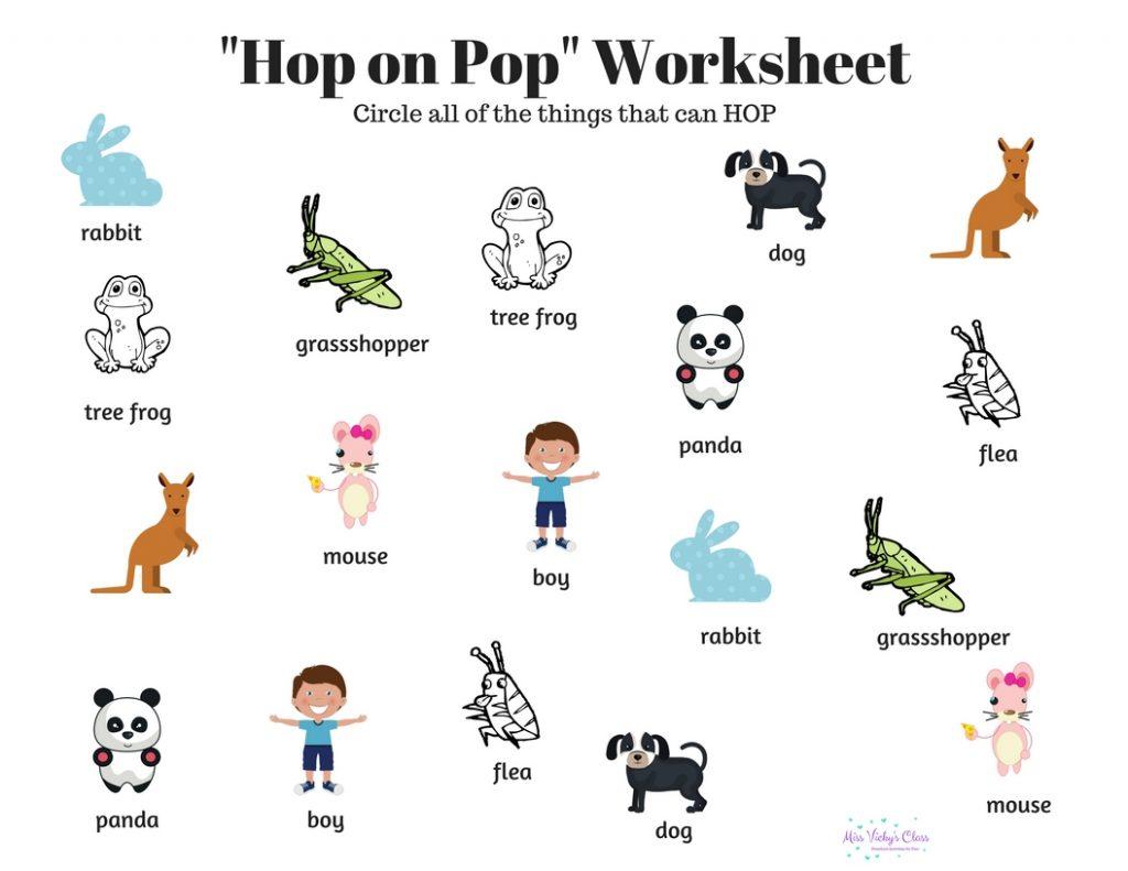 Dr Seuss Preschool Activities With Free Printables
