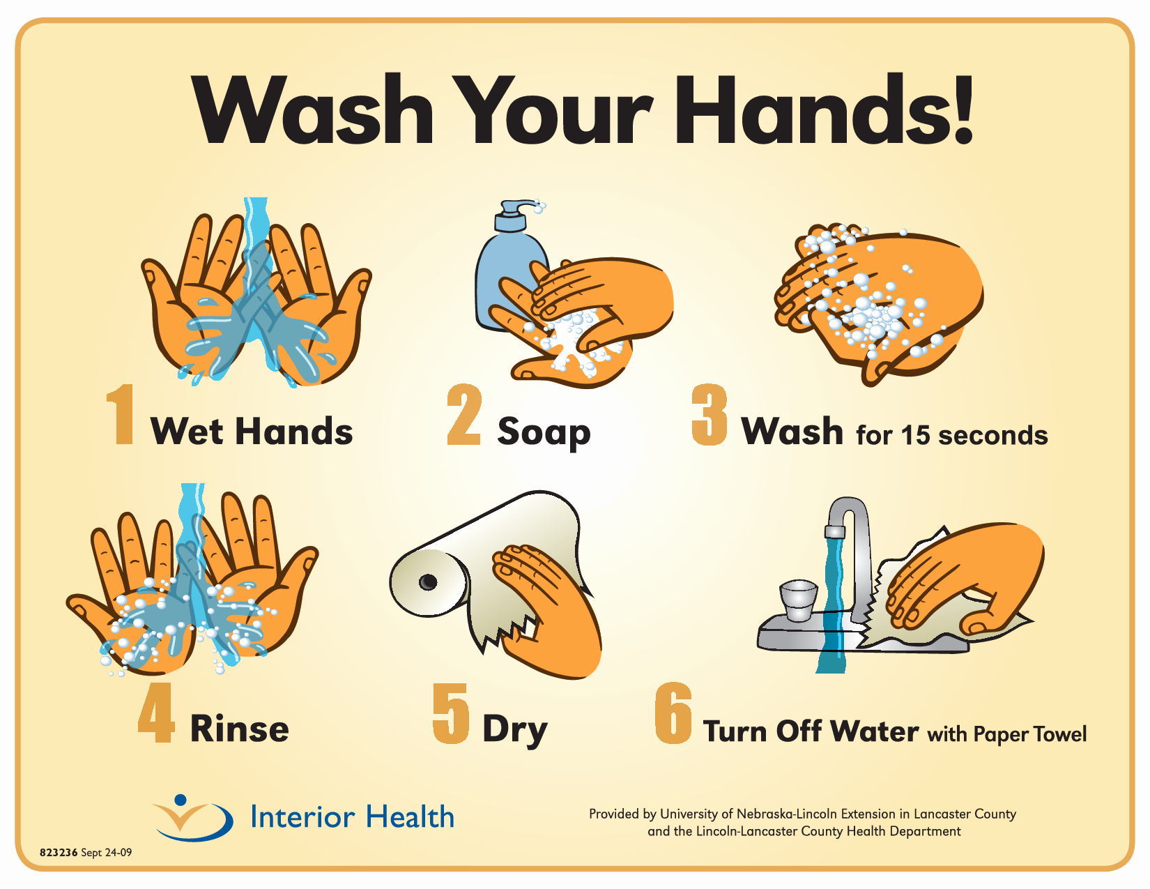 Free Printable Hand Washing Posters