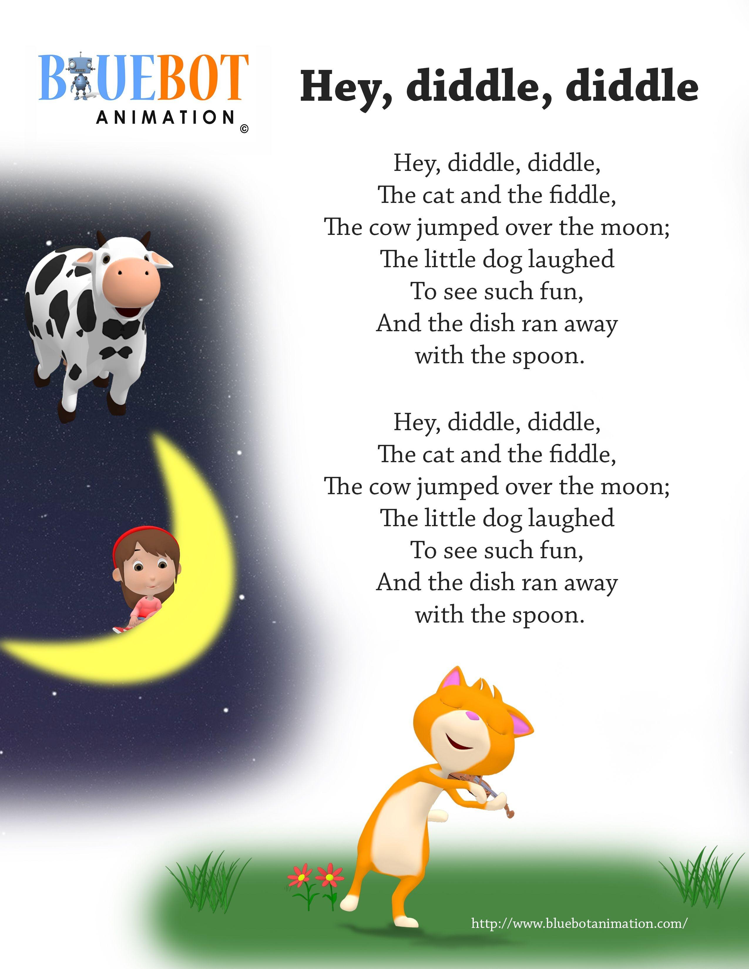 Free Printable Nursery Rhymes