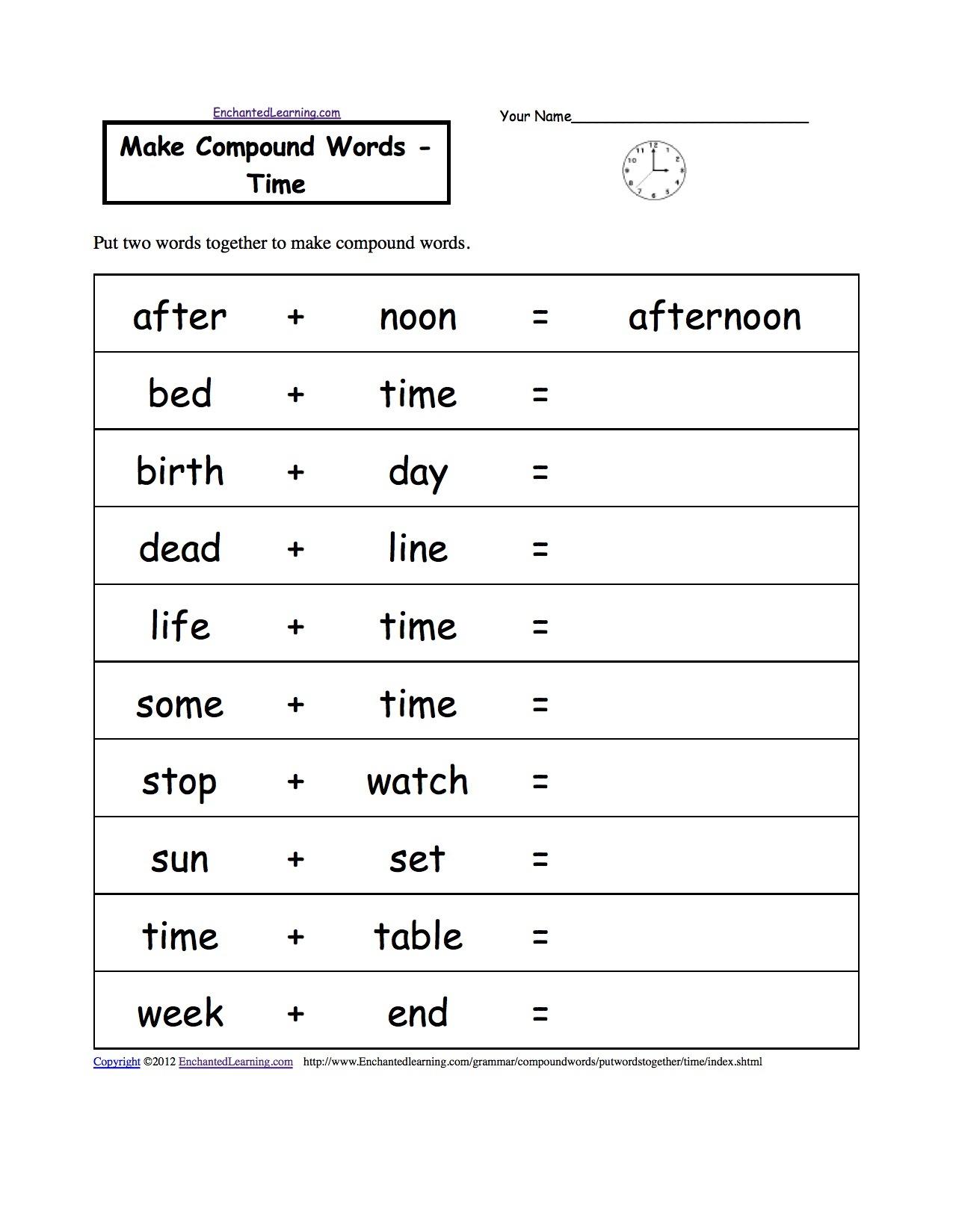 Free Language Grammar Worksheets And Printouts
