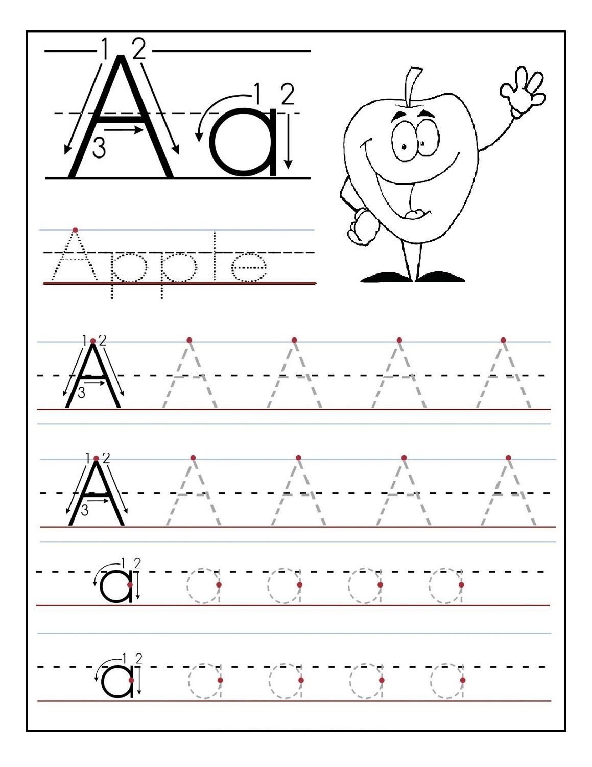 Free Printable Letter Worksheets