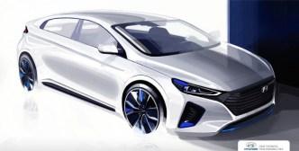 Desain Hyundai Ioniq