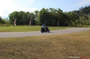 Test Ride Aerox 155 di Sirkuit Marina (22)