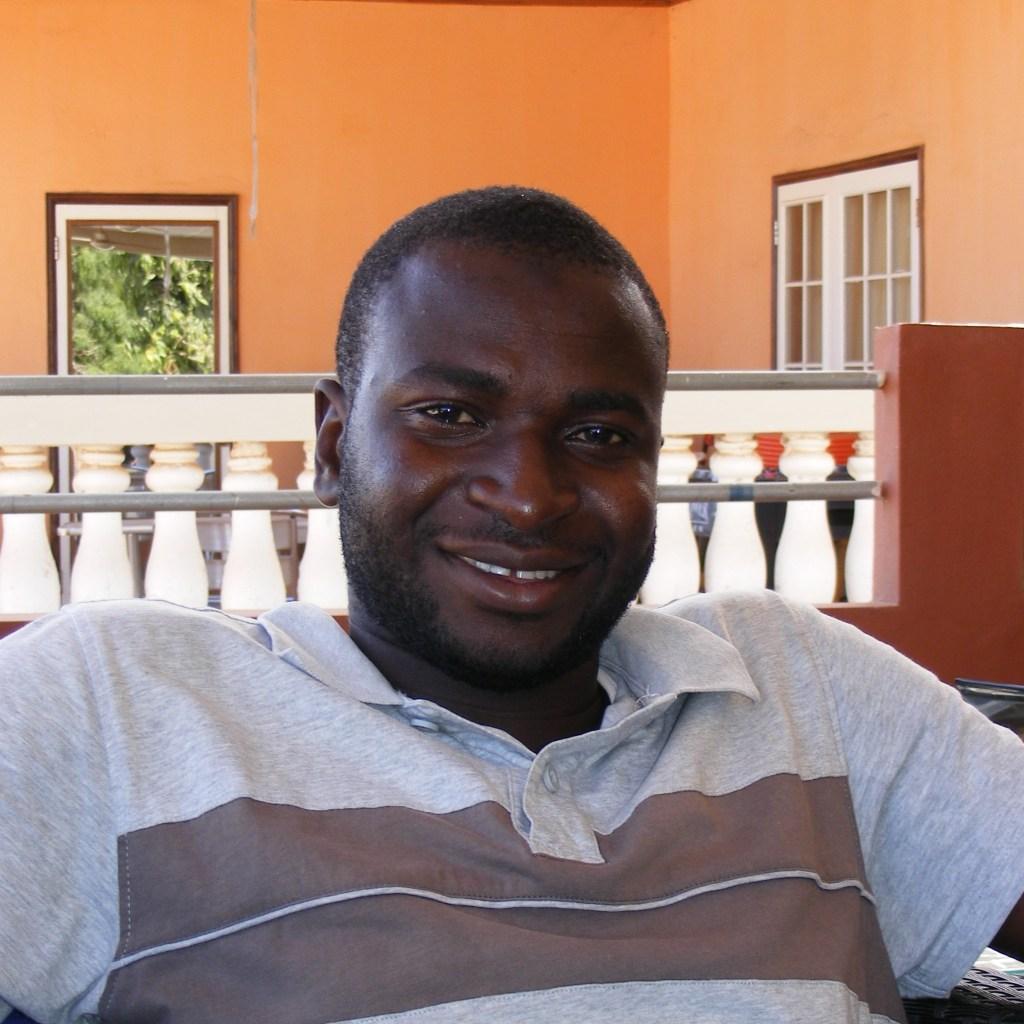 Amadou, vrijwilliger Gambia