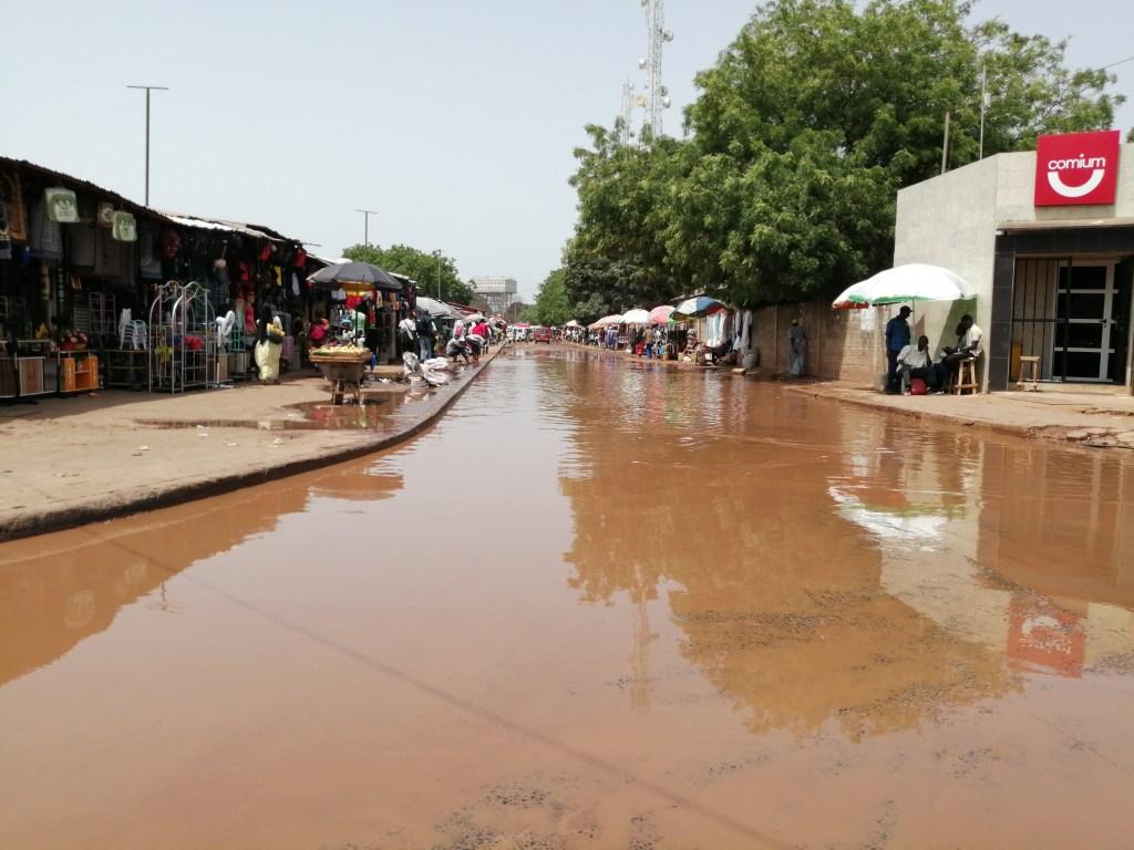 wateroverlast Gambia