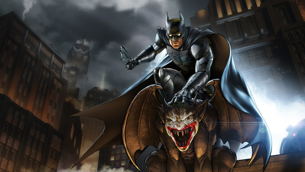 Screens For The Telltale Games Batman: The Enemy Within Arrive