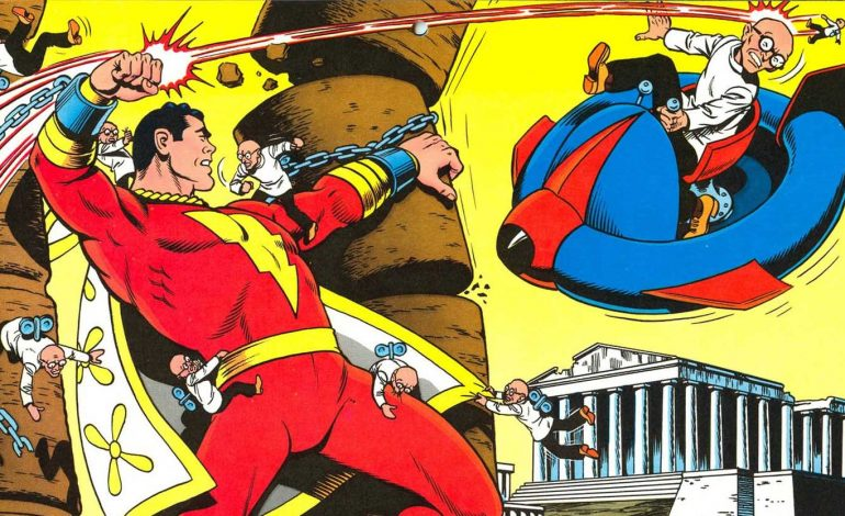 Mark Strong's Doctor Sivana Takes On Shazam In Leaked Set Video