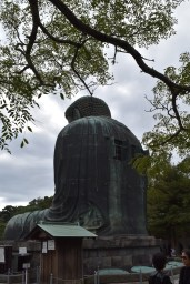 The back of Daibutsu