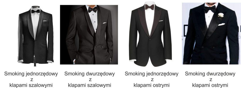 smoking rodzaje