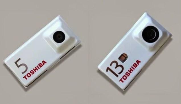 Toshiba camera modules