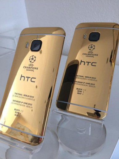 HTC-One-M9-24ct-gold-edition-2