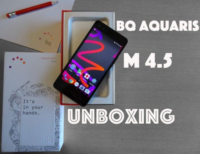 BQ aquaris M4.5
