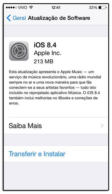 apple ios 84