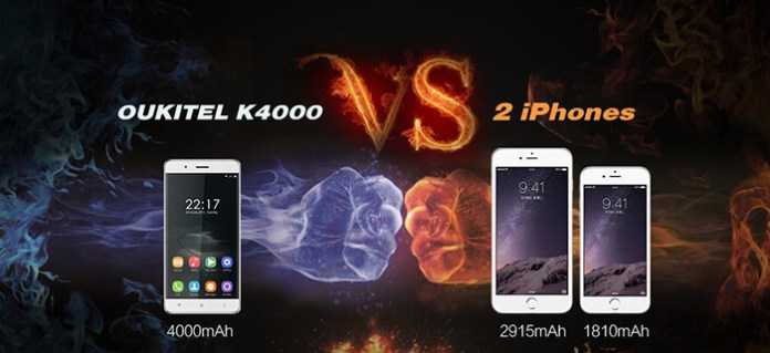 Oukitel vs iPho4gn