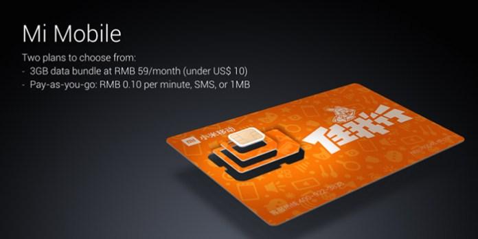 Xiaomi card