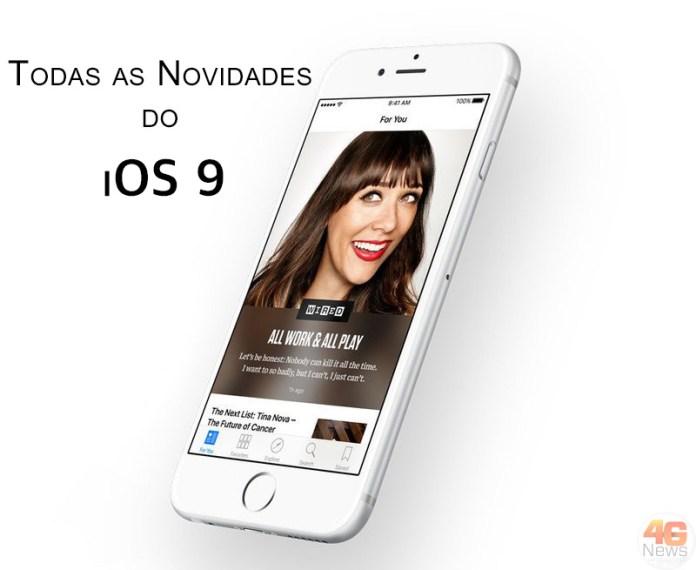 iOS 9 as novidades 4gnews