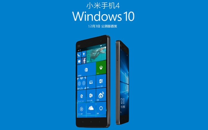 Windows 10 mi4