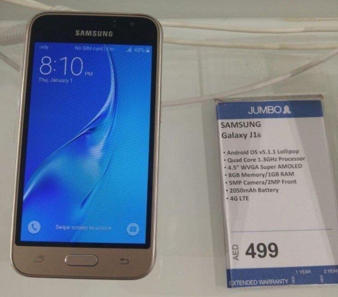 Samsung Galaxy J1 2016 4gnews 1