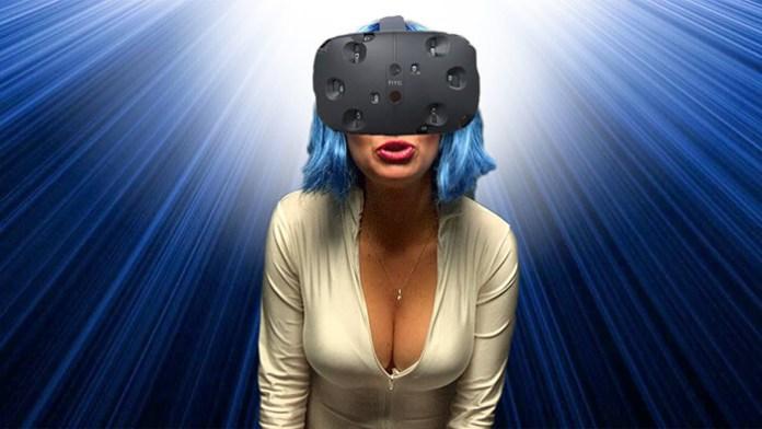 realidade virtual mulher