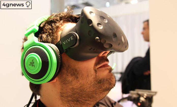 HTC vive VR 4gnews 2