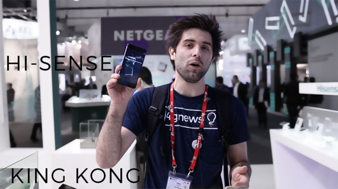 Hi-sense King Kong 4gnews