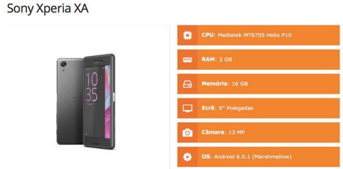 Sony Xperia X A