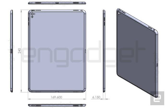 ipad air 3 leak engadget - 4GNEWS.PT