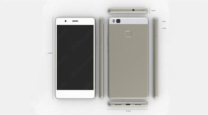 Huawei-P9-Lite-render