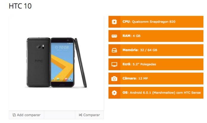 HTC 10 specs 1