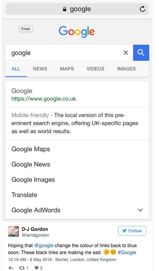 google verde 3